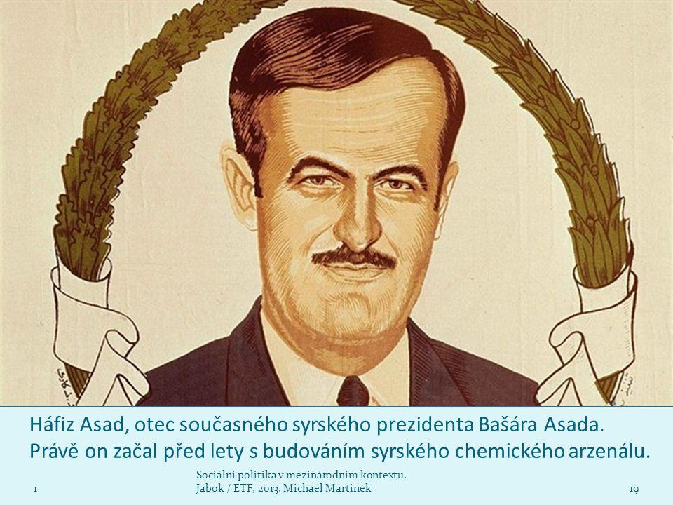 Háfiz Asad, otec současného syrského prezidenta Bašára Asada