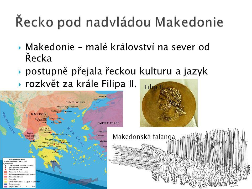 Řecko pod nadvládou Makedonie