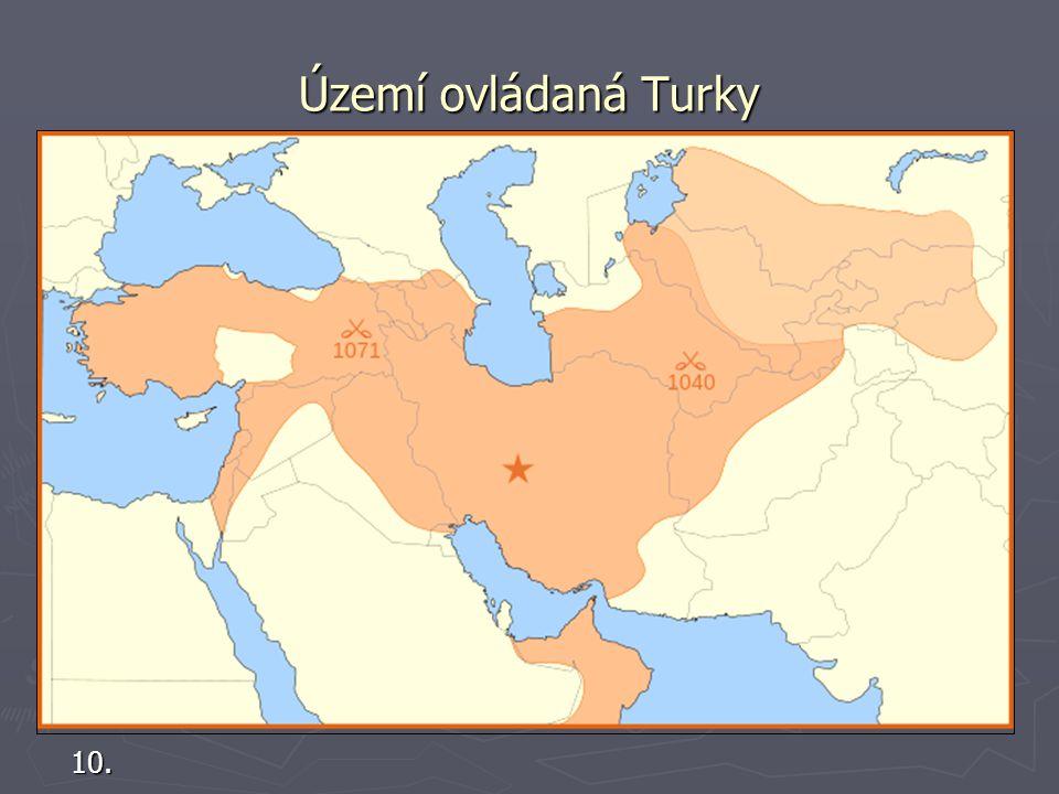 Území ovládaná Turky 10.