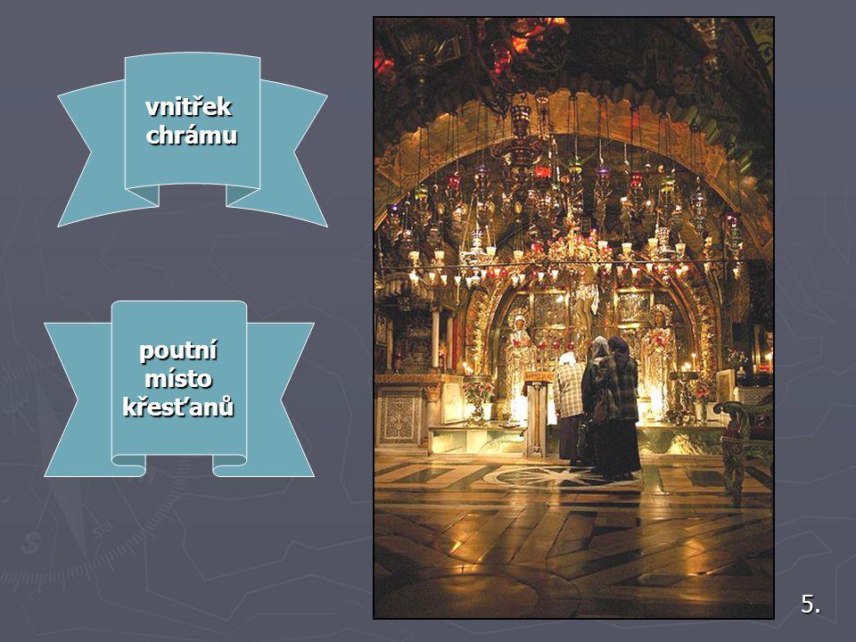 vnitřek chrámu poutní místo křesťanů 5.