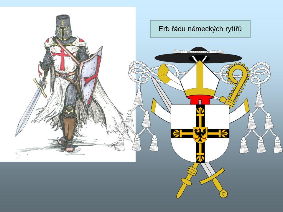 Erb řádu německých rytířů