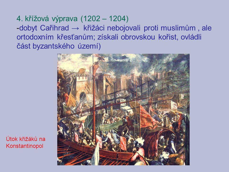 4. křížová výprava (1202 – 1204)