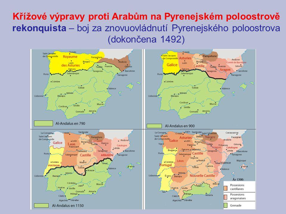 Křížové výpravy proti Arabům na Pyrenejském poloostrově