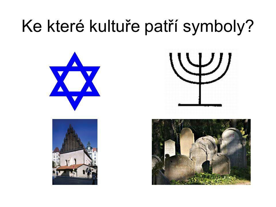 Ke které kultuře patří symboly