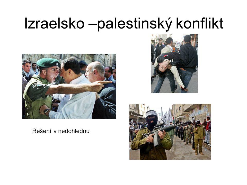 Izraelsko –palestinský konflikt