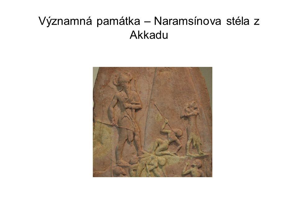 Významná památka – Naramsínova stéla z Akkadu