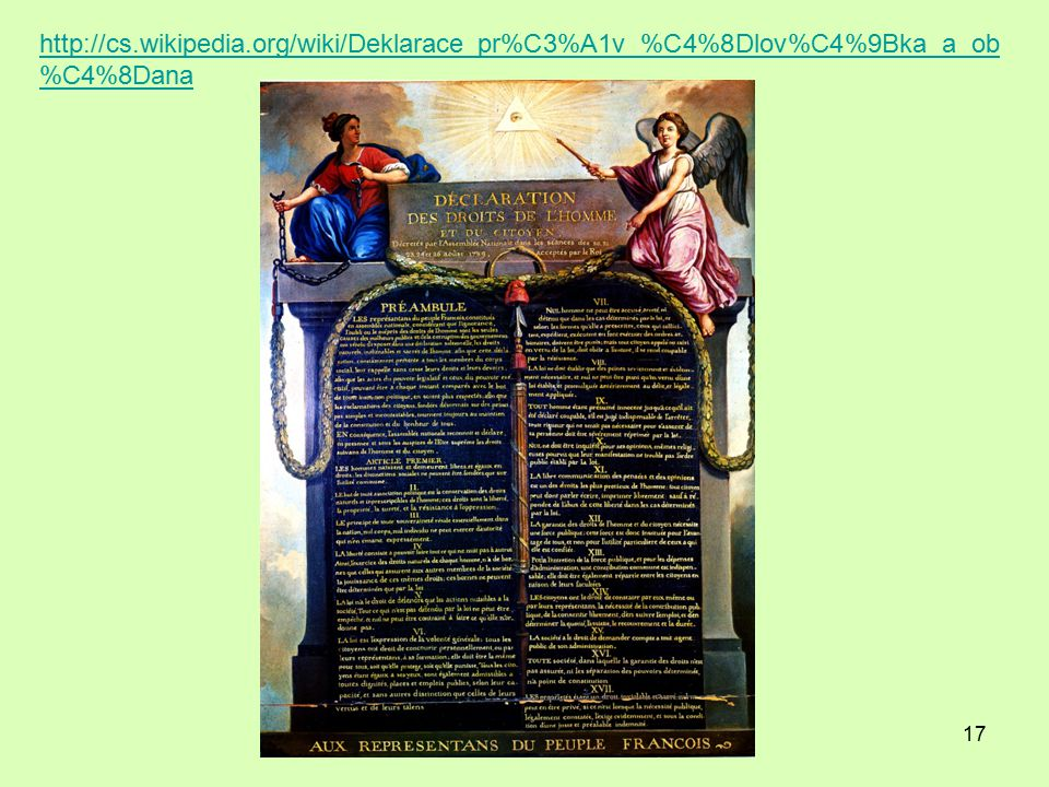 http://cs.wikipedia.org/wiki/Deklarace_pr%C3%A1v_%C4%8Dlov%C4%9Bka_a_ob%C4%8Dana