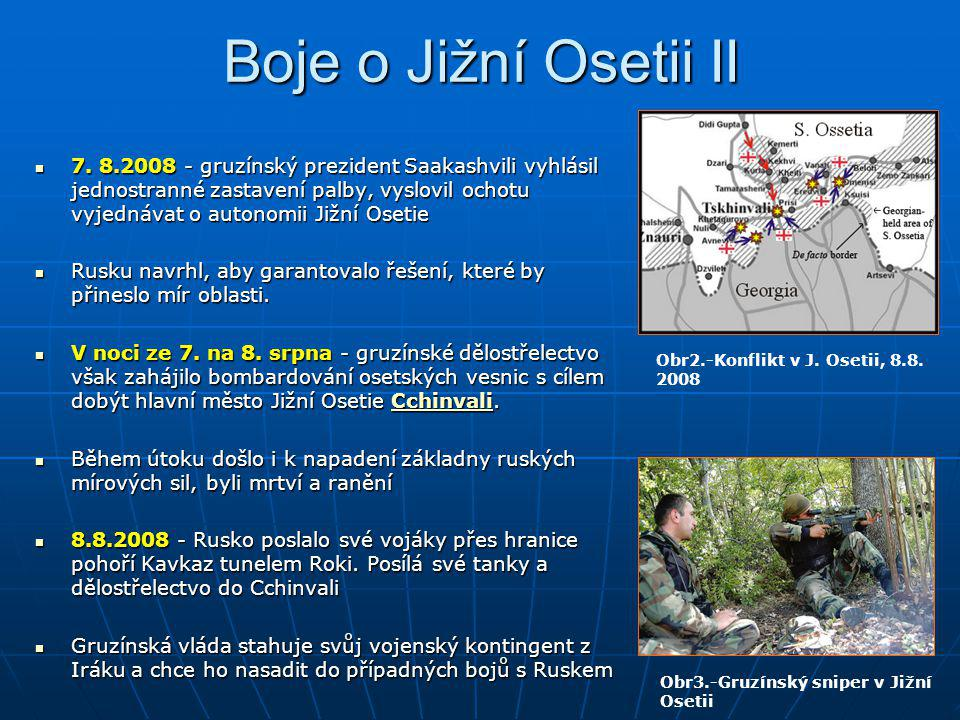 Boje o Jižní Osetii II