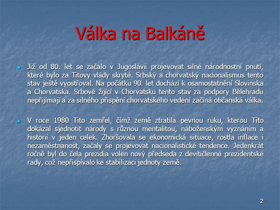 Válka na Balkáně