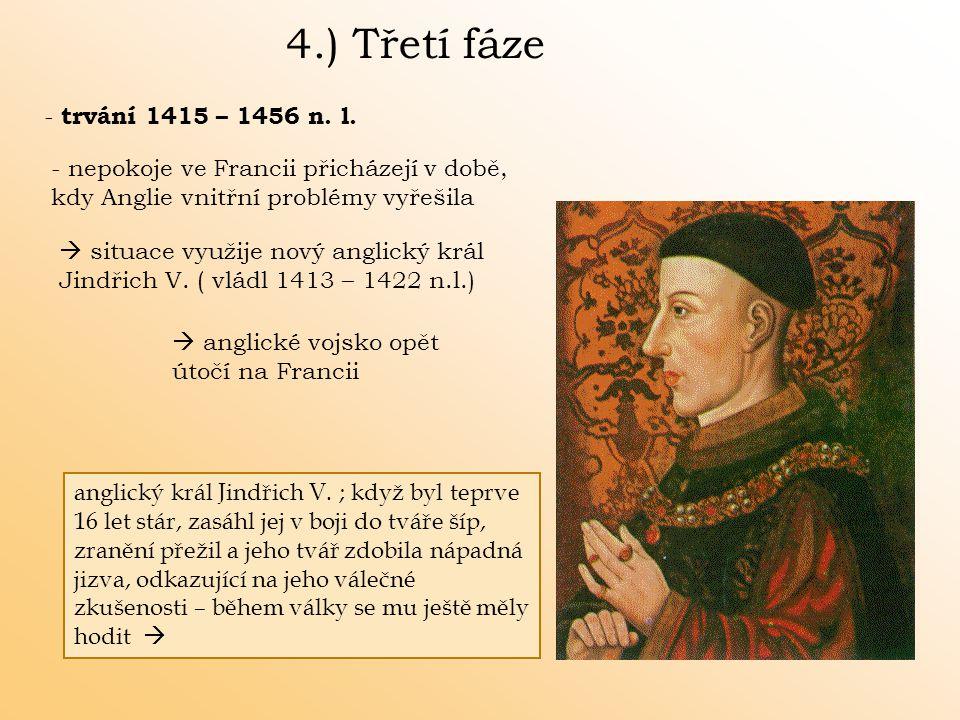 4.) Třetí fáze - trvání 1415 – 1456 n. l.