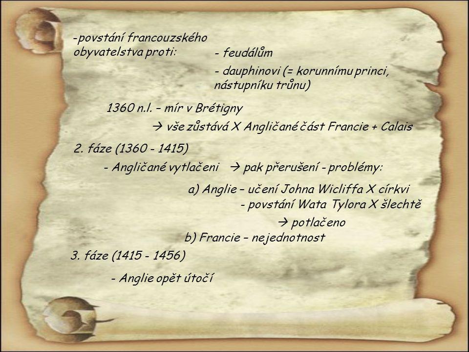 povstání francouzského obyvatelstva proti: