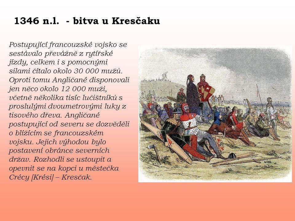 1346 n.l. - bitva u Kresčaku