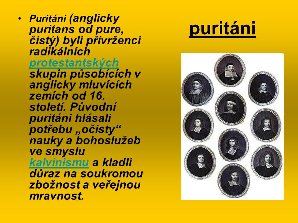 puritáni