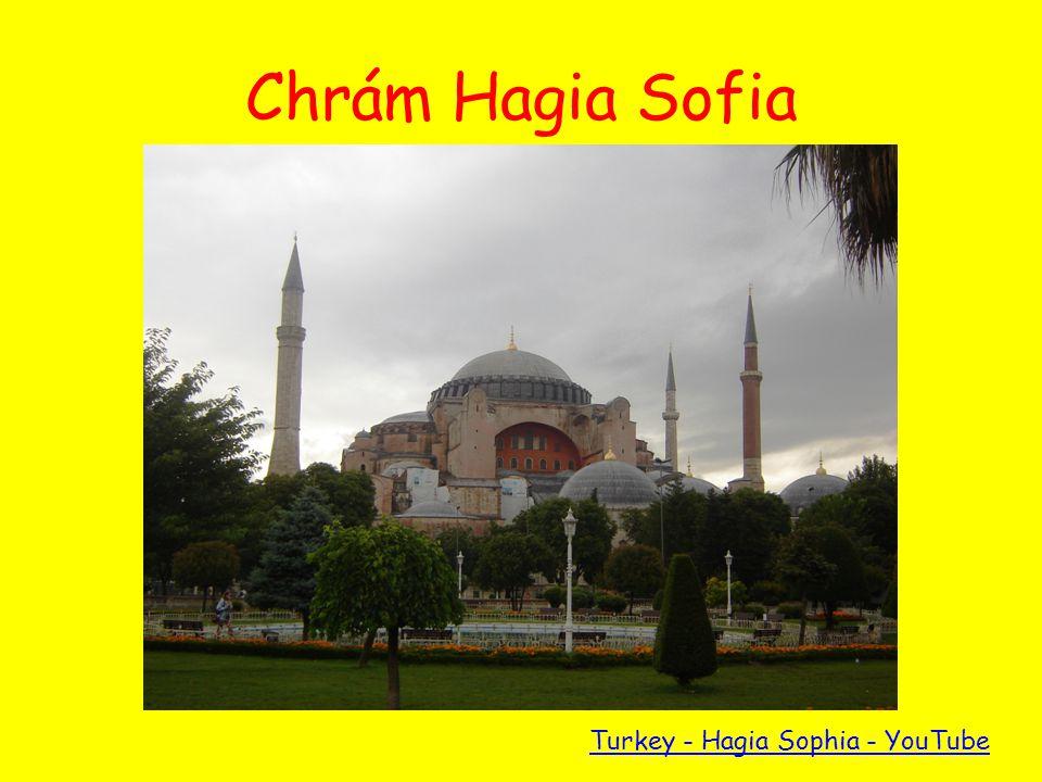 Chrám Hagia Sofia Turkey - Hagia Sophia - YouTube