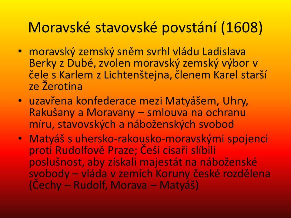 Moravské stavovské povstání (1608)