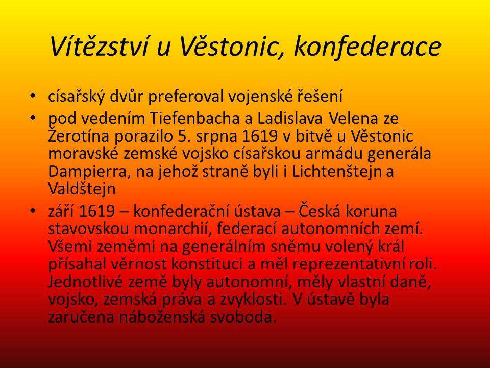 Vítězství u Věstonic, konfederace