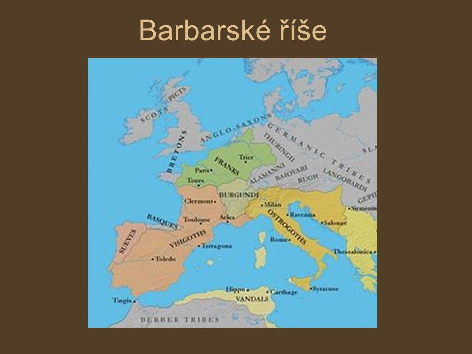 Barbarské říše