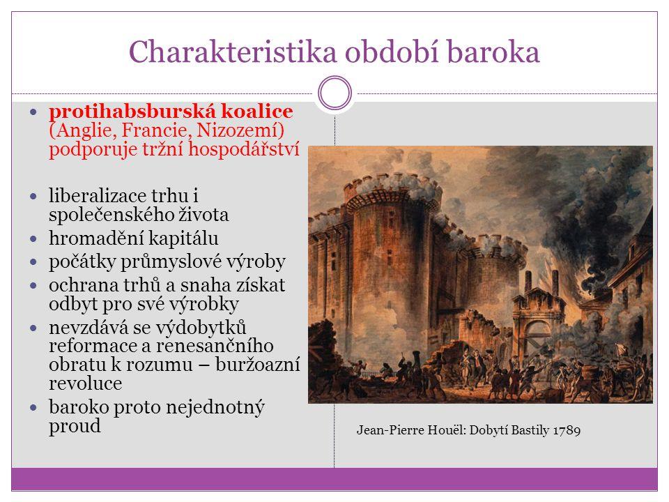 Charakteristika období baroka