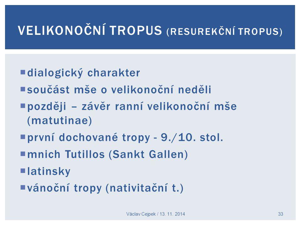 velikonoční tropus (resurekční tropus)