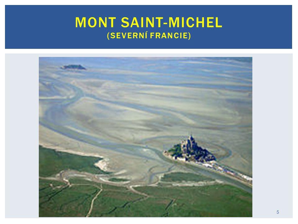 Mont Saint-Michel (severní Francie)