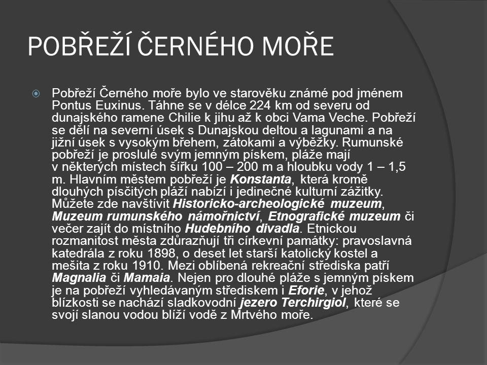 POBŘEŽÍ ČERNÉHO MOŘE