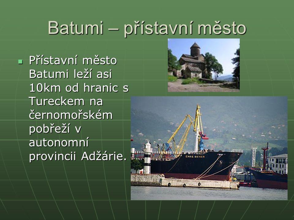 Batumi – přístavní město
