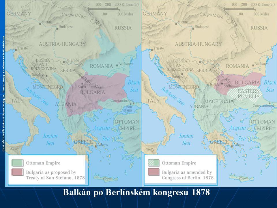 Balkán po Berlínském kongresu 1878
