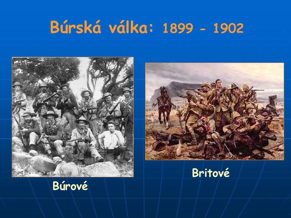 Búrská válka: 1899 - 1902 Britové Búrové