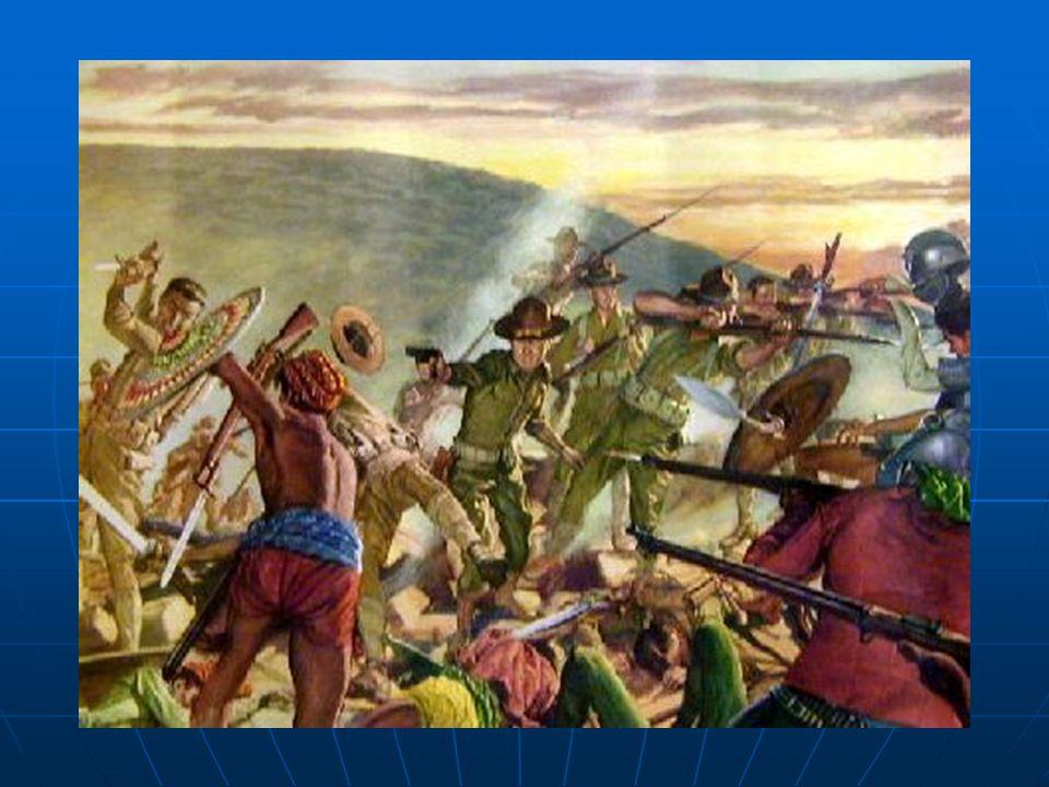 Na Filipínách proti Americké okupaci vypukla guerillová válka