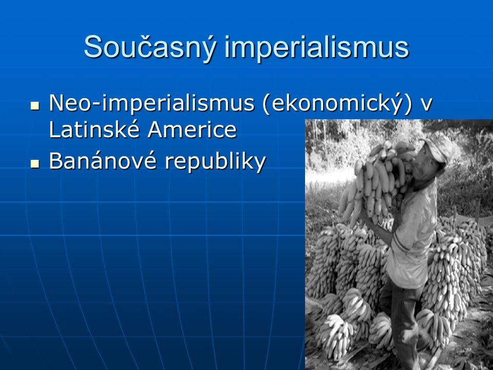 Současný imperialismus