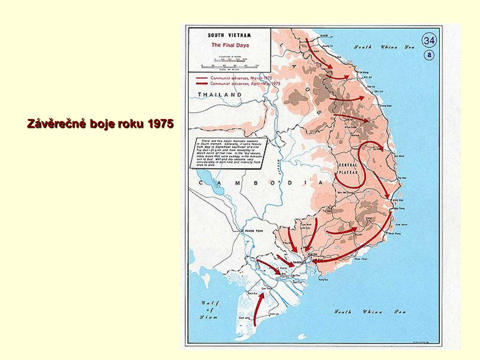 Závěrečné boje roku 1975