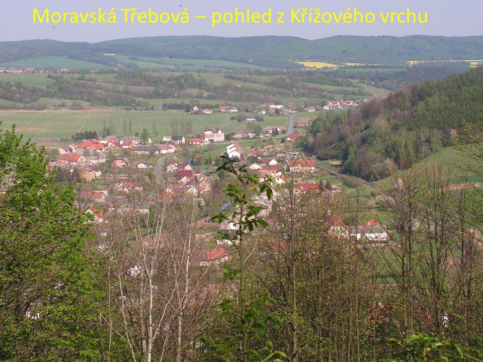 Moravská Třebová – pohled z Křížového vrchu