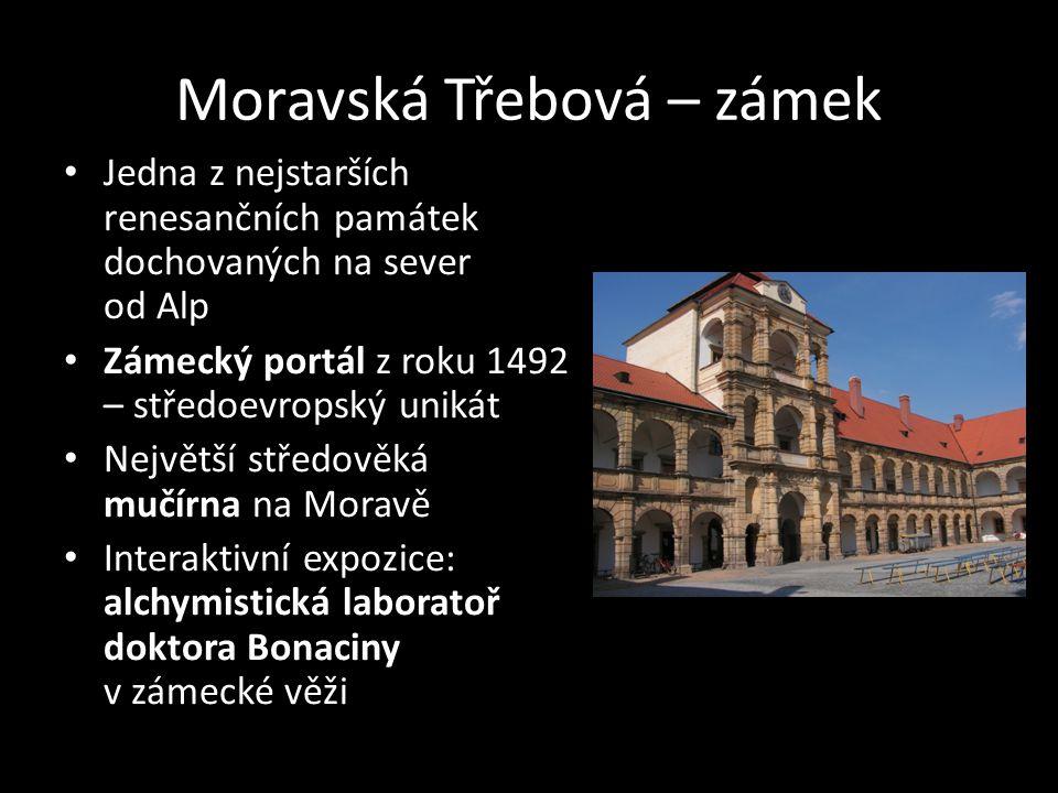Moravská Třebová – zámek