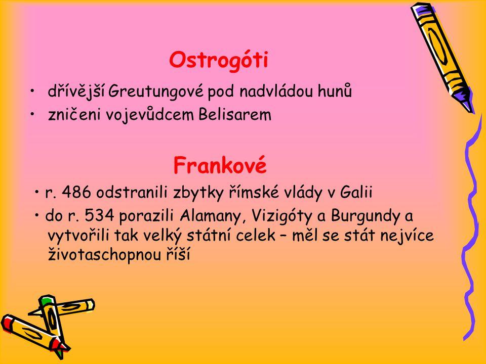 Ostrogóti dřívější Greutungové pod nadvládou hunů