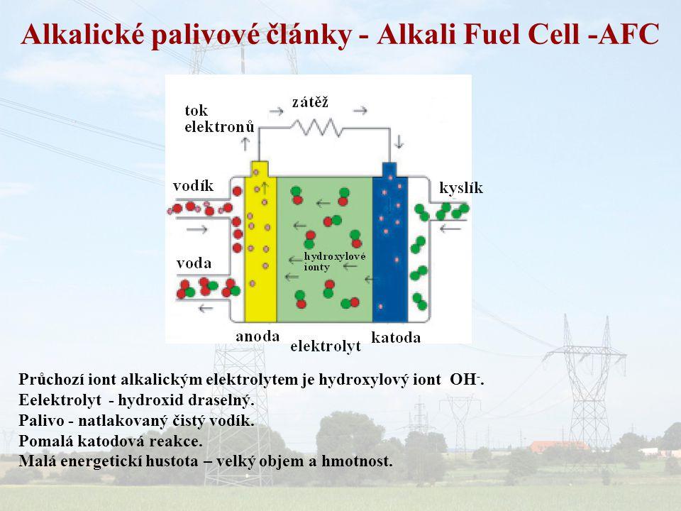 Alkalické palivové články - Alkali Fuel Cell -AFC