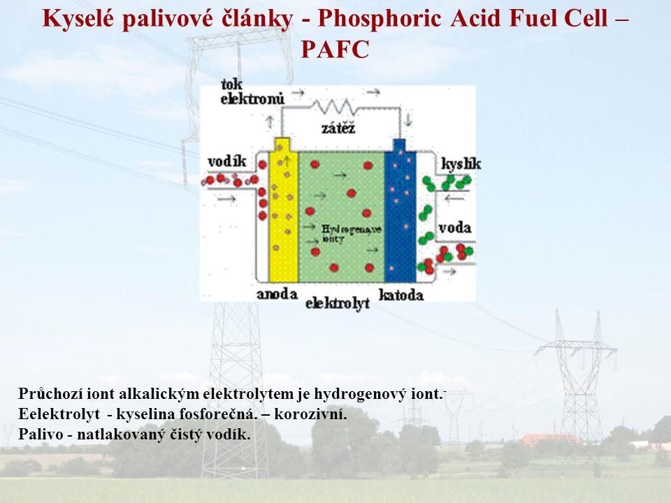 Kyselé palivové články - Phosphoric Acid Fuel Cell – PAFC