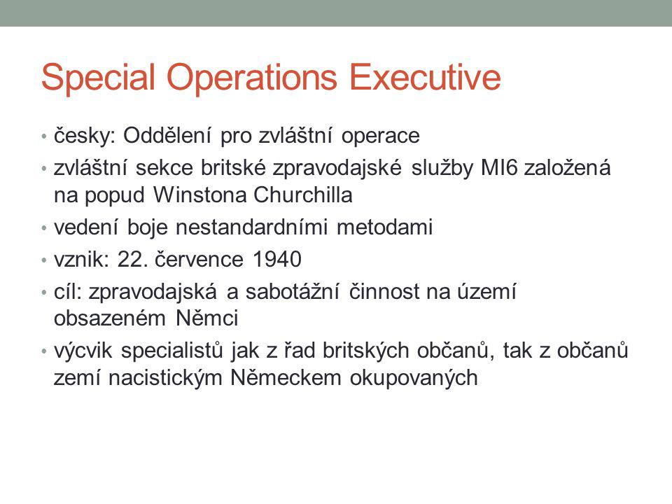 Special Operations Executive