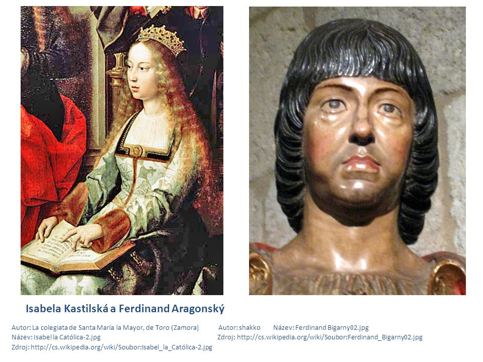 Isabela Kastilská a Ferdinand Aragonský