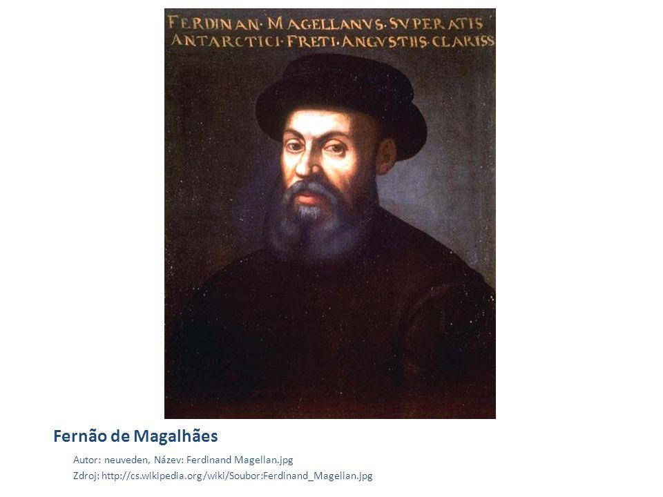 Fernão de Magalhães Autor: neuveden, Název: Ferdinand Magellan.jpg