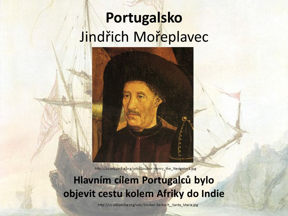Portugalsko Jindřich Mořeplavec