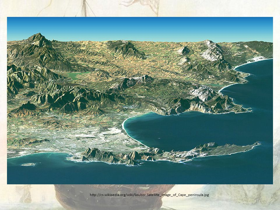 http://cs.wikipedia.org/wiki/Soubor:Satellite_image_of_Cape_peninsula.jpg