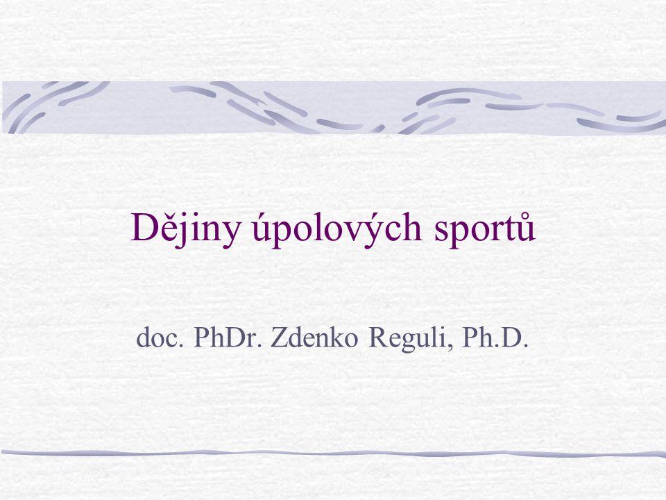 Dějiny úpolových sportů