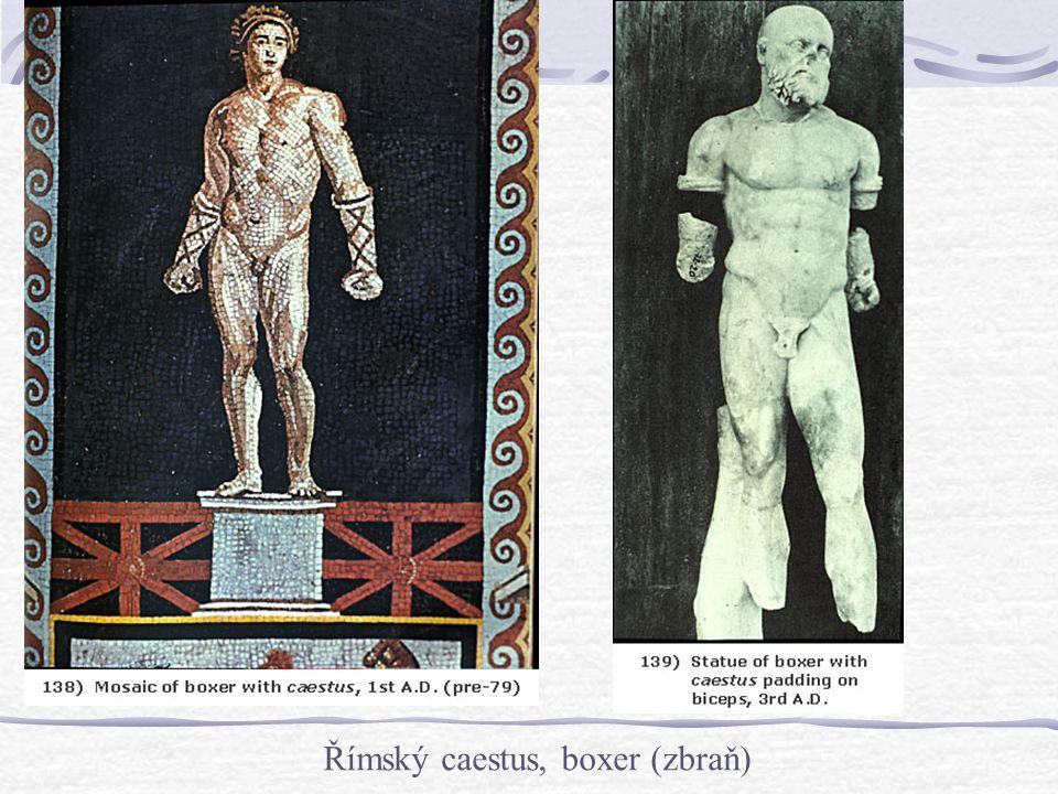 Římský caestus, boxer (zbraň)