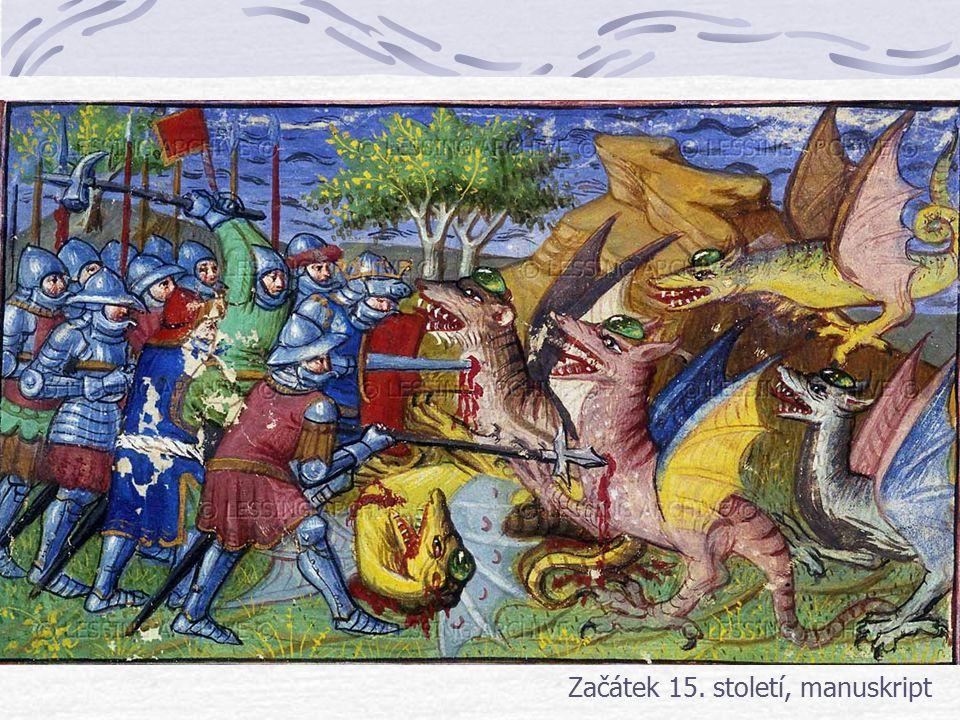 Začátek 15. století, manuskript