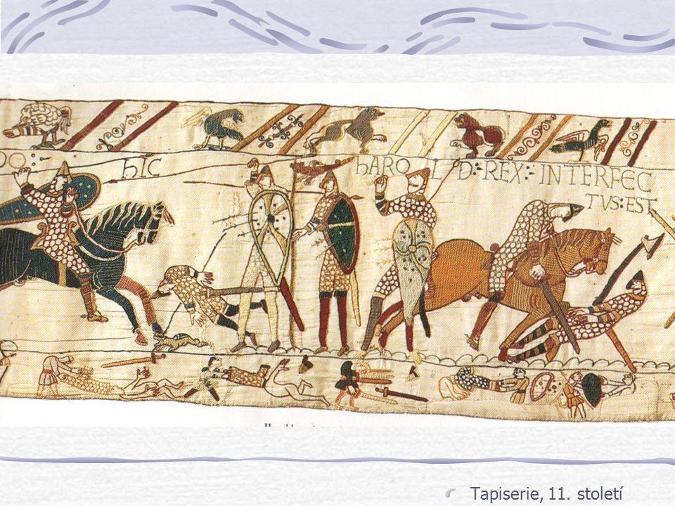 Tapiserie, 11. století