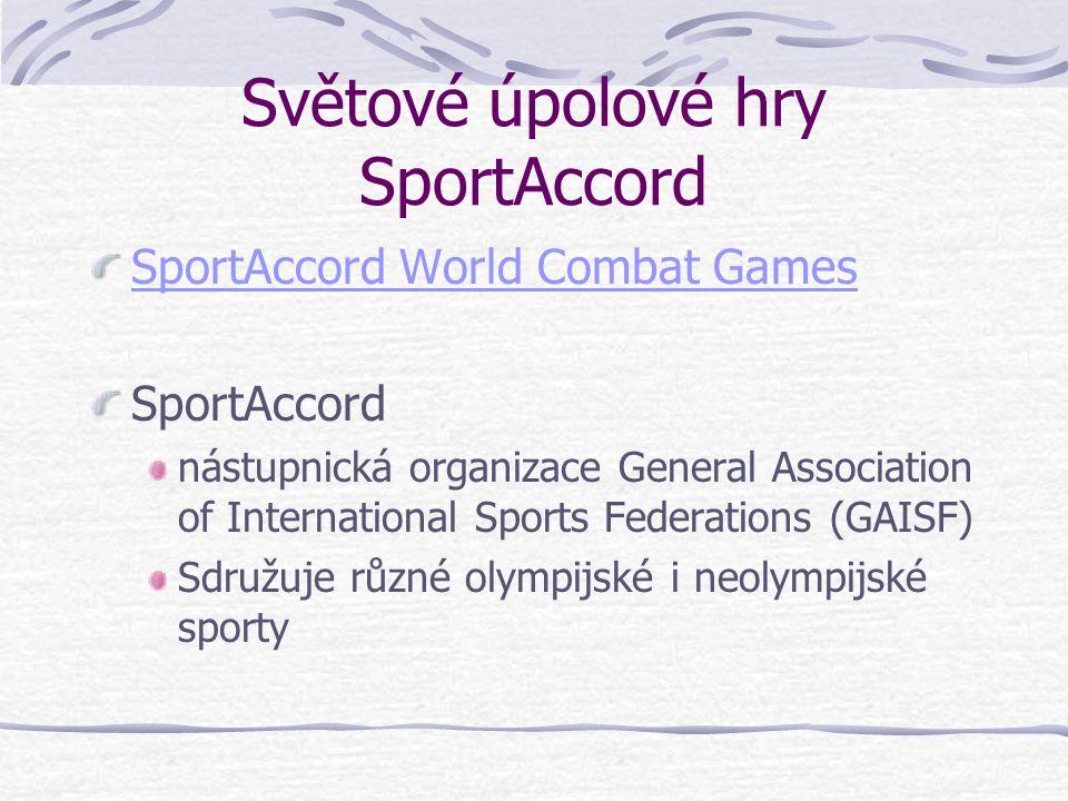 Světové úpolové hry SportAccord