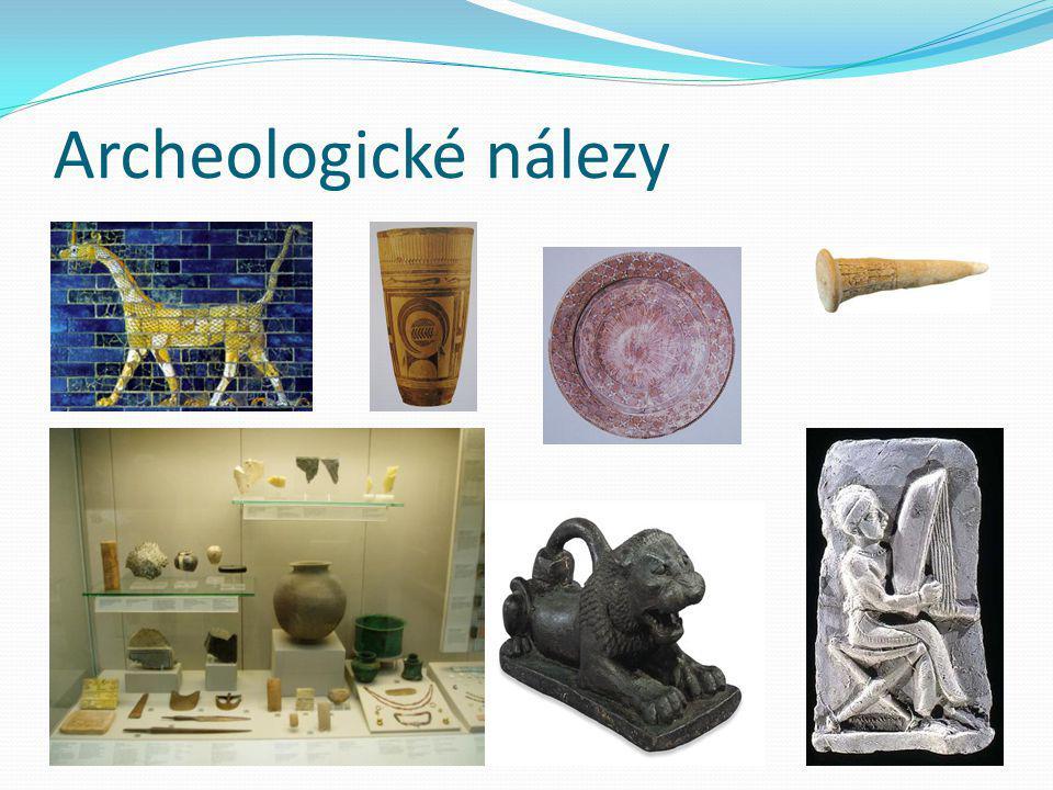 Archeologické nálezy .
