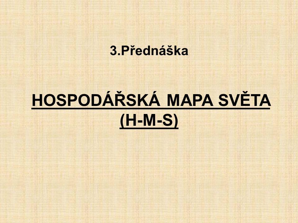 HOSPODÁŘSKÁ MAPA SVĚTA (H-M-S)