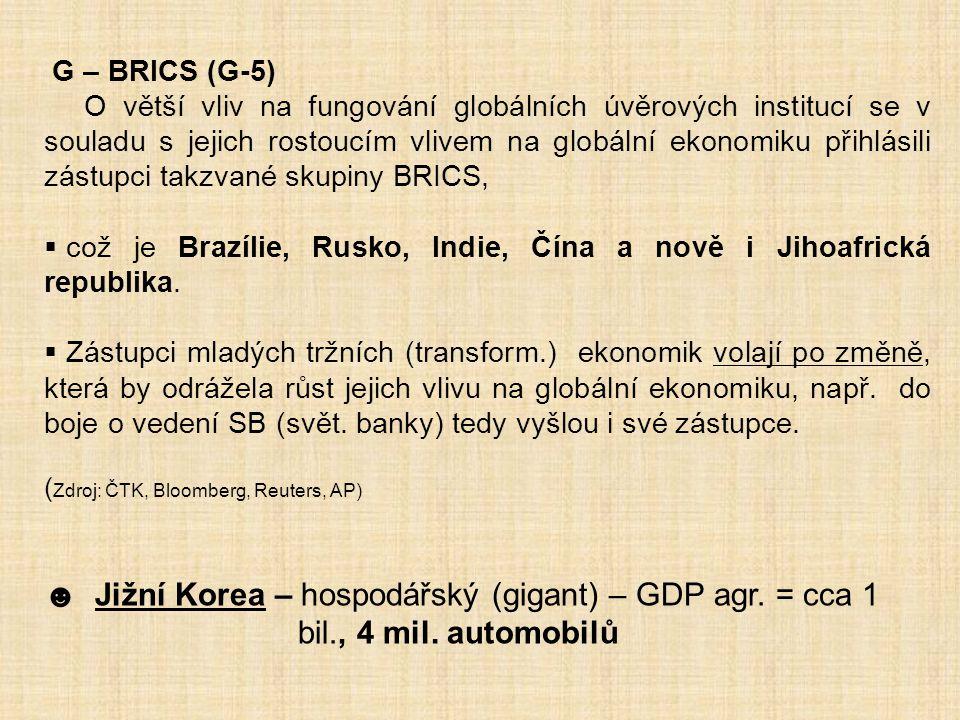 G – BRICS (G-5)