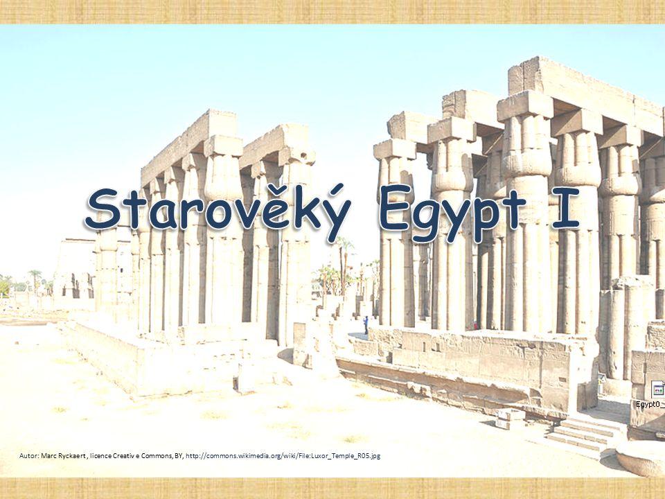Starověký Egypt I Autor: Marc Ryckaert , licence Creativ e Commons, BY, http://commons.wikimedia.org/wiki/File:Luxor_Temple_R05.jpg.